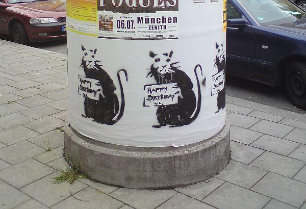 17.05.2011 Ecke Alter Messeplatz/Kazmairstraße