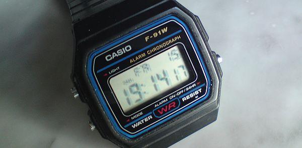 Casio F-91W - Baujahr ca. 1993