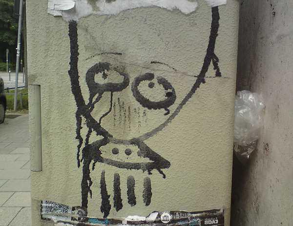 Alien im Westend München