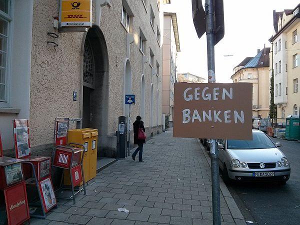 Gegen Banken