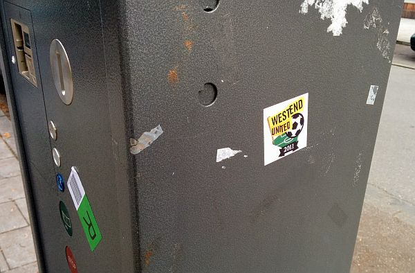 Westend United Sticker 09.12.2013