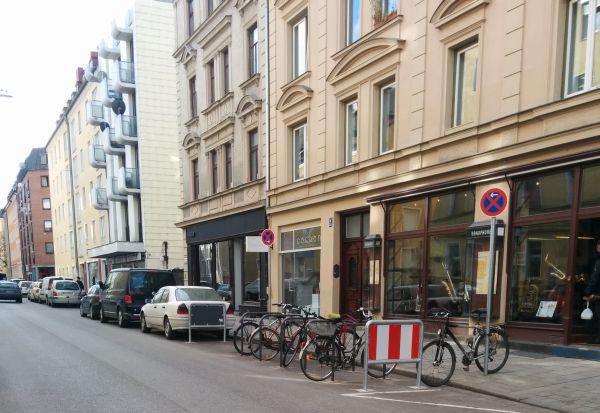 Bike Parkplatz Westend Parkstr.