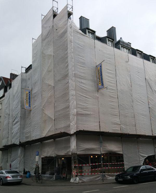 Westend wrapped: Ecke Kazmair-/Anglerstraße