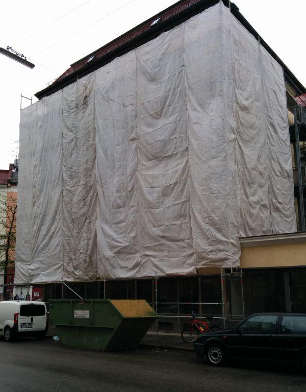 Westend wrapped: Kazmairstr. 33