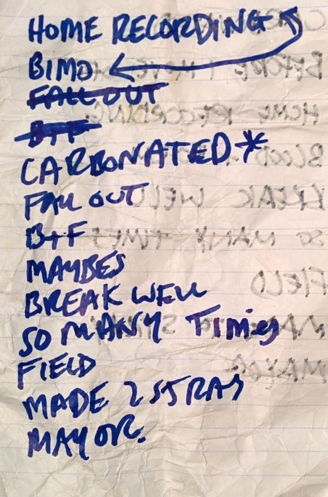 Puch Open Air: Setlist Mount Kimbie