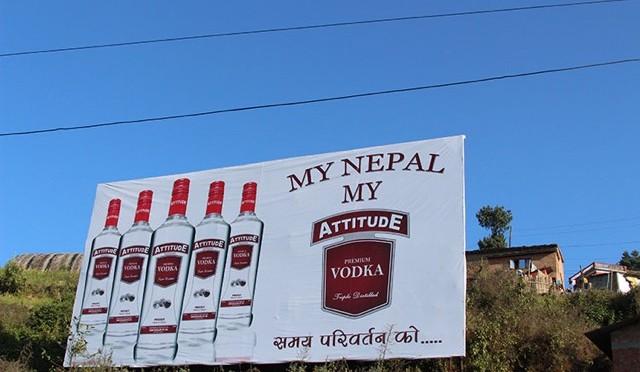 Nepal Vodka Attitude