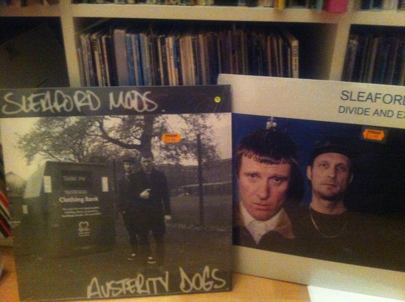 Sleaford Mods auf Vinyl