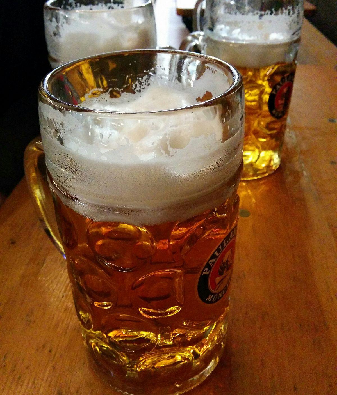 Bierle auf der Wiesn