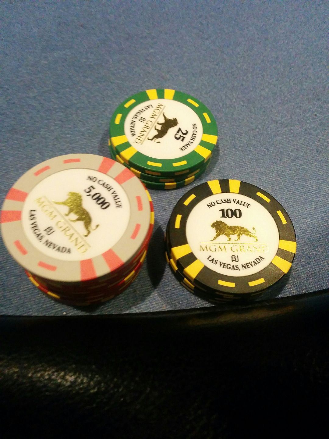 Pokerchips MGM Grand