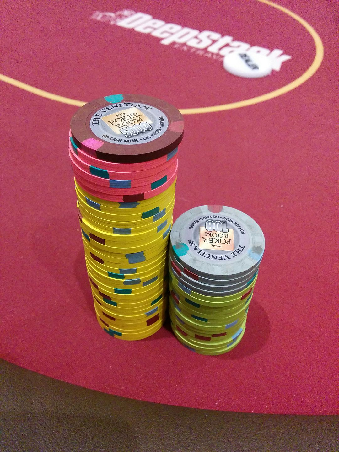 Pokerchips The Venetian