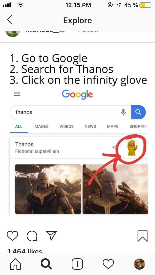 Thanos Google