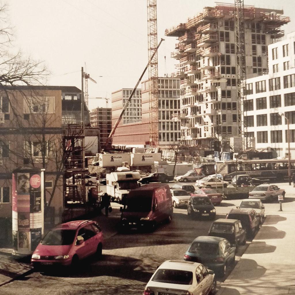 Anno 2002 - Ecke Ligsalz-/Heimeranstraße